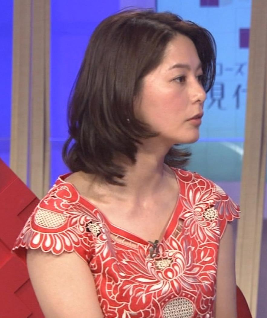 杉浦友紀 太めの二の腕キャプ画像(エロ・アイコラ画像)