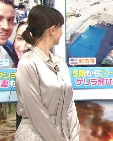 菊川怜 巨乳横乳キャプ画像(エロ・アイコラ画像)
