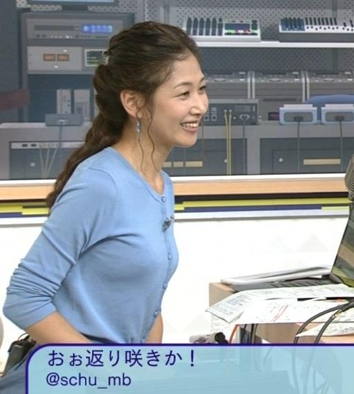 桑子真帆 横乳キャプ画像(エロ・アイコラ画像)