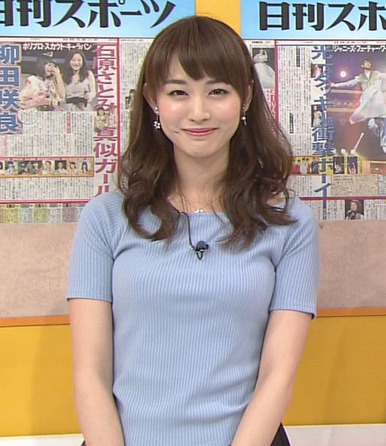 新井恵理那 盛ってそうだけどエロいおっぱいキャプ画像(エロ・アイコラ画像)