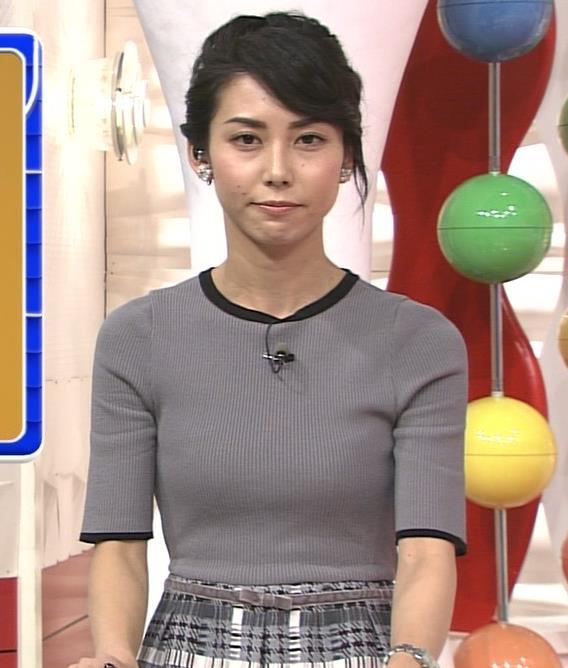 杉野真実 ふっくらニットおっぱいキャプ画像(エロ・アイコラ画像)