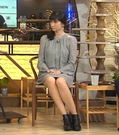 市川紗椰 ミニスカ太ももキャプ画像(エロ・アイコラ画像)