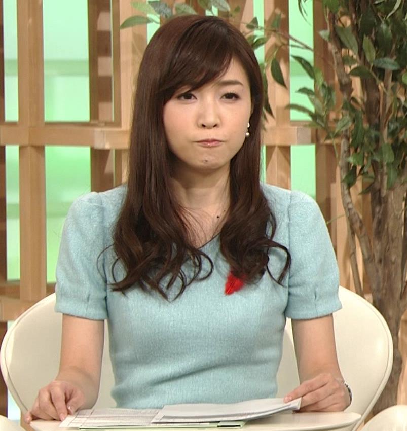 竹内優美 胸のふくらみがいい感じのワンピースキャプ画像(エロ・アイコラ画像)