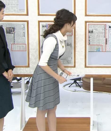 宇垣美里 ニットおっぱいキャプ画像(エロ・アイコラ画像)