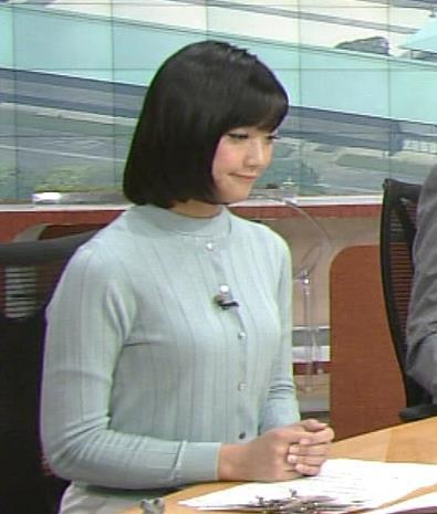 竹内由恵 ひかえめ胸のふくらみキャプ画像(エロ・アイコラ画像)