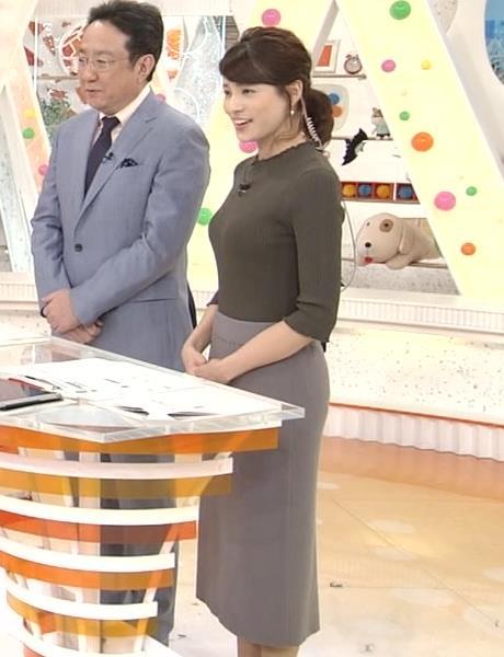 永島優美 おっぱいとお尻の曲線がエロ過ぎキャプ画像(エロ・アイコラ画像)