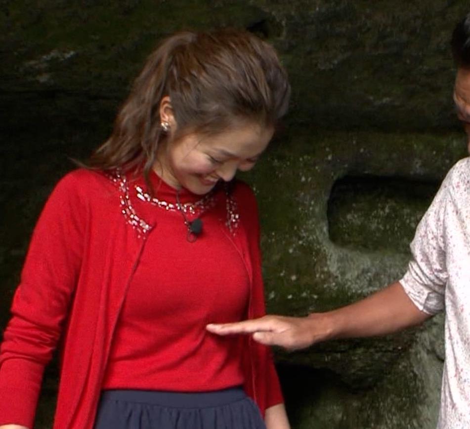 福田典子 さっそく三村のセクハラでおっぱい触られそうだったキャプ画像(エロ・アイコラ画像)