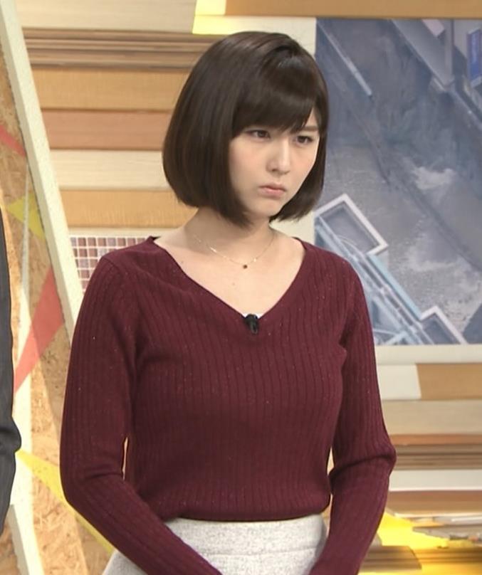 宇賀なつみ ニットおっぱい!肌の露出多め!キャプ画像(エロ・アイコラ画像)