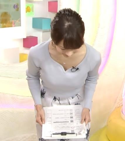 高見侑里 胸元がエロい白い肌キャプ画像(エロ・アイコラ画像)