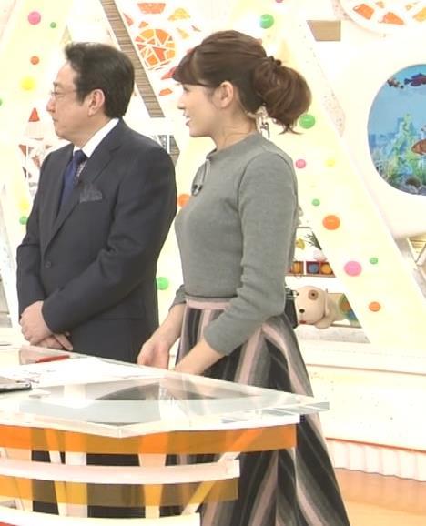 永島優美 最近のおっぱいアピールがエロいキャプ画像(エロ・アイコラ画像)