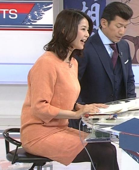 杉浦友紀 黒ストッキング太ももキャプ画像(エロ・アイコラ画像)