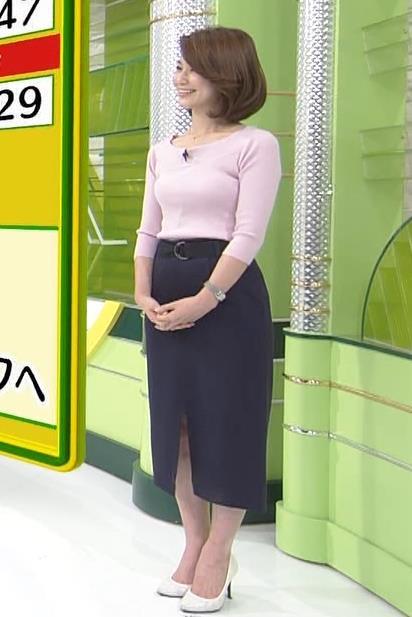 秋元玲奈 この女子アナは必ずカラダのラインがでる服を着ているキャプ画像(エロ・アイコラ画像)