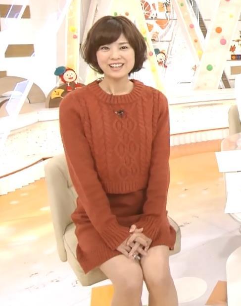 曽田麻衣子 ミニスカ太ももキャプ画像(エロ・アイコラ画像)