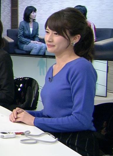 宇内梨沙 エロい巨乳横乳キャプ画像(エロ・アイコラ画像)