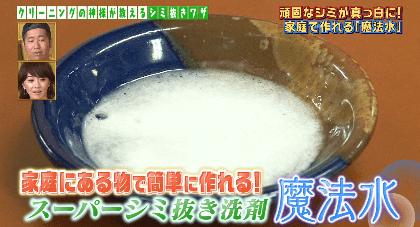 スーパーシミ抜き洗剤魔法水